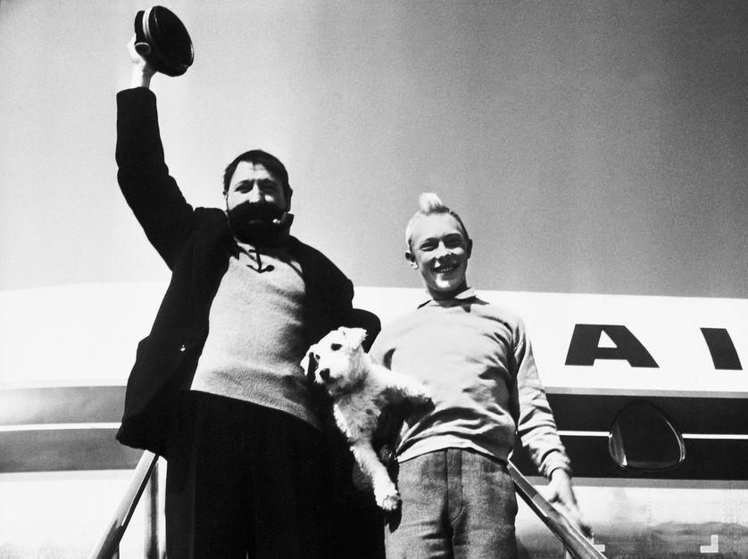 Capitaine Haddock et Tintin (Georges Wilson et Jean-Pierre Talbot) 1961