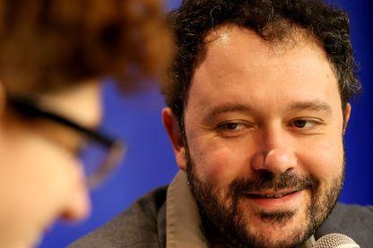 Riad Sattouf en conférence de presse à Angoulême