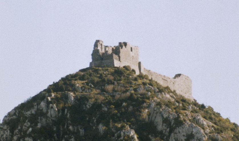 Château Cathare de Montsegur, Languedoc, 1989