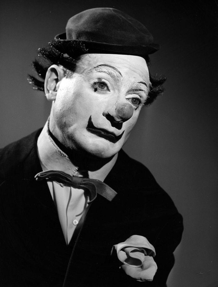 Le clown et cinéaste Pierre Etaix vers 1965