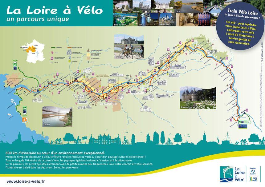 Pour faire la Loire à vélo, même un train est prévu pour les cyclistes