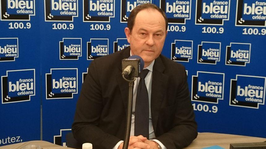 Hugues Saury, le président (LR) du Loiret