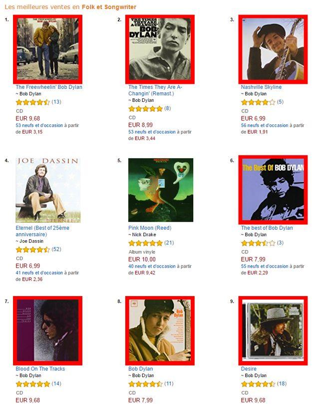 Bob Dylan, roi incontesté de la folk