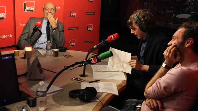 Alain Jupé et Alex Vizorek