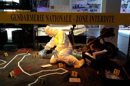 La police scientifique s'expose au Musée de la Gendarmerie Nationale de Melun