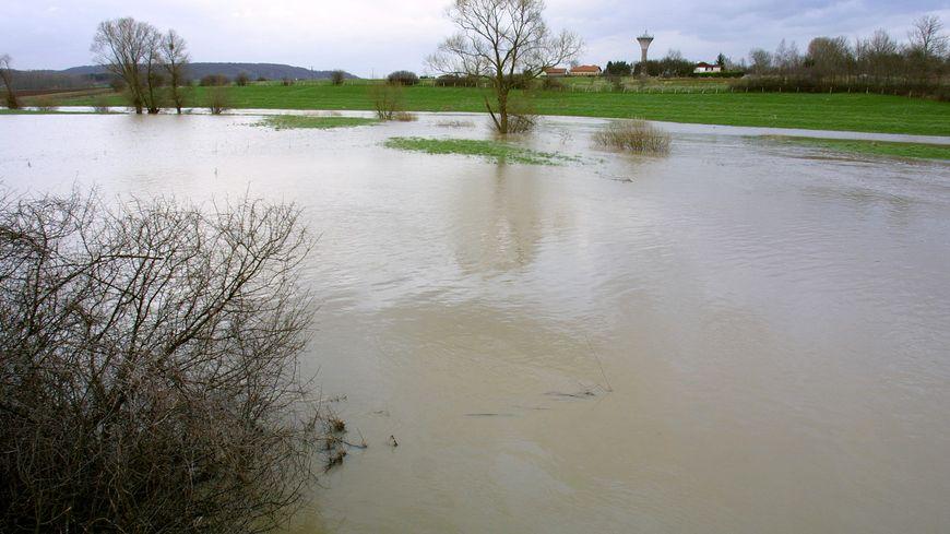 Le projet de barrage vise à ralentir l'impact des crues en aval de la Meurthe et du Madon (image illustration)