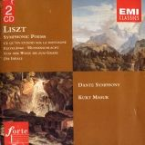 cd visuel Liszt / Poemes symphoniques / Masur EMI
