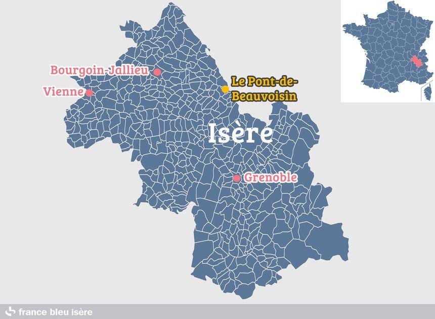 Le Pont-de-Beauvoisin, une commune à la limite de l'Isère et de la Savoie