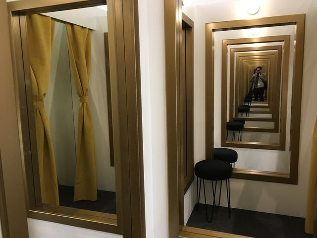 Leandro Erlich, Changing Rooms, Galerie Luciana Brito