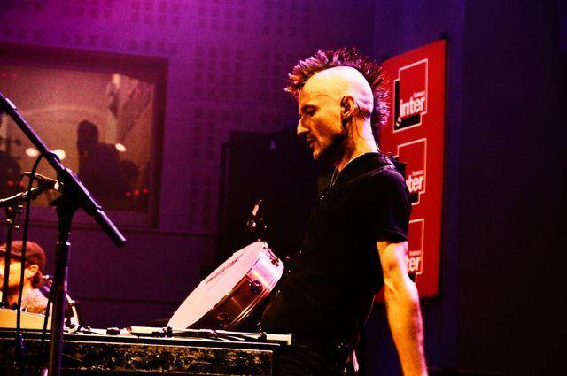 Norbert Lucarain (vibraphone & batterie / General Elektriks)
