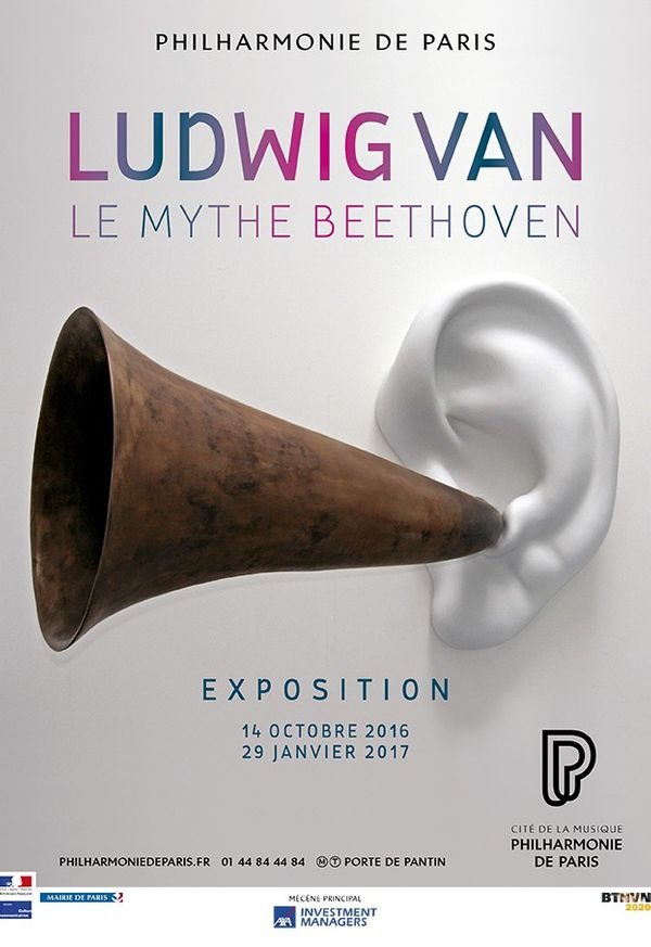 Affiche exposition Beethoven 2017