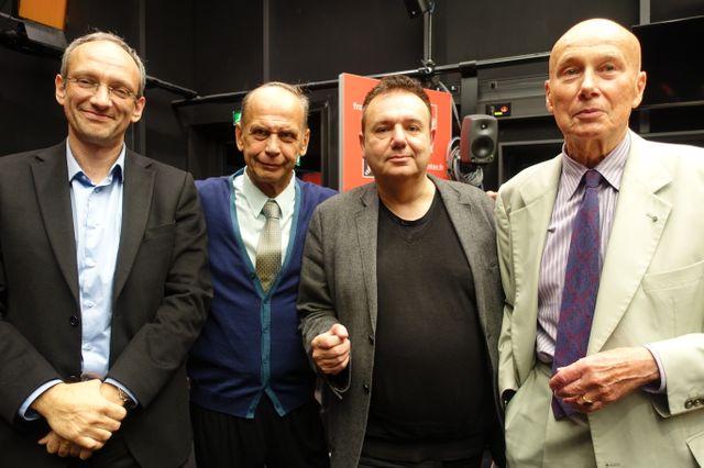 Frédéric Encel, Vladimir Fedorovski, Christophe Bourseiller et Gabriel Matzneff