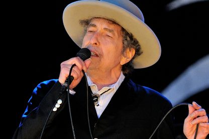 Bob Dylan à Paddock Wood en 2012