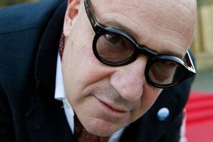 Le cinéaste italien Gianfranco Rosi pendant la 64ème édition du Festival International du Film de San Sebastian le 23 Septembre 2016