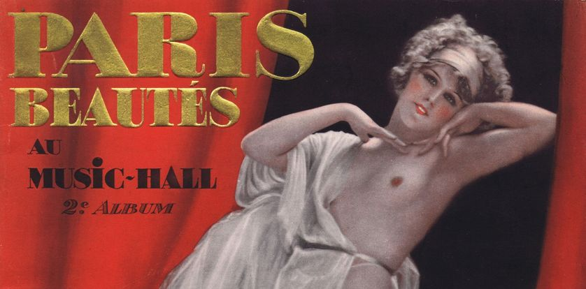 Album no 2 Paris Beautés au Music Hall, 1926