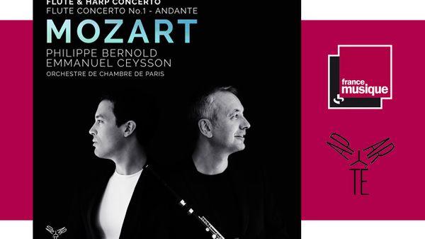 Philippe Bernold & Emmanuel Ceysson : Flute & Harp Concerto de Mozart