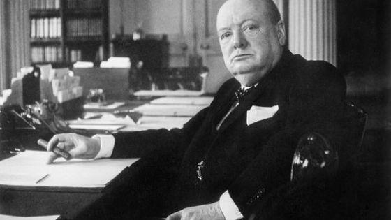Winston Churchill en 1940 © Cecil Beaton, collection de l'Imperial War Museum