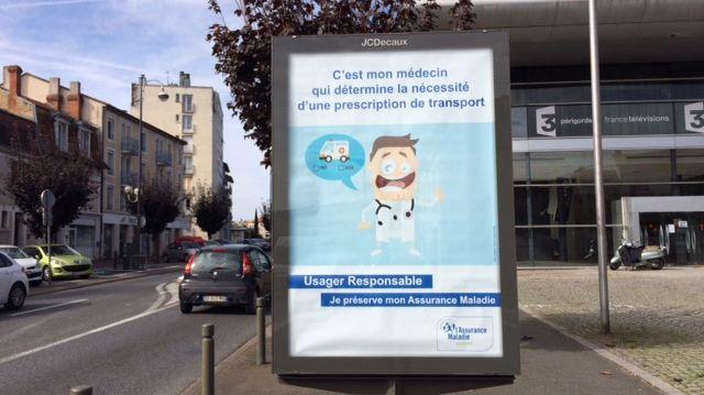 La sécu de Dordogne lance une campagne pour sensibiliser sur l'abus des transports médicaux dans le département.