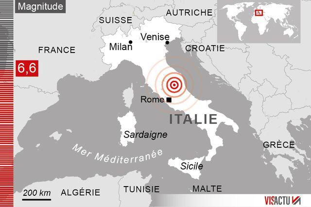 Nouveau séisme dans le centre de la péninsule