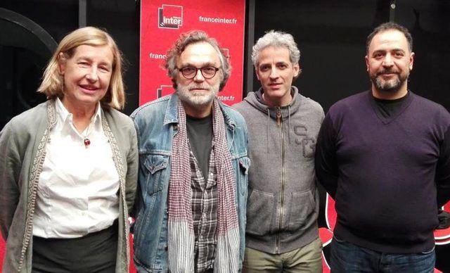 Hedwige Pasquet, Eric Libiot, Ollivier Pourriol, Rafik Djoumi