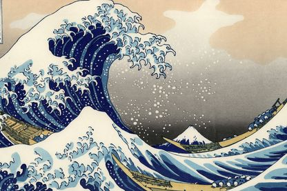 La vague par Hokusai