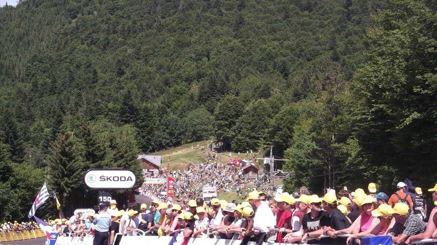 Comme en 2012, le Tour de France pourrait passer par la Planche des Belles Filles en 2017.
