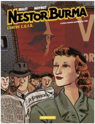 Nestor Burma contre C.Q.F.D, bande-dessinée