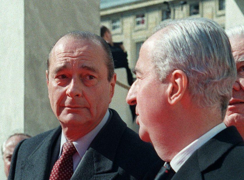 """En 1995, le """"pacte"""" entre Jacques Chirac et Edouard Balladur vole en éclats"""