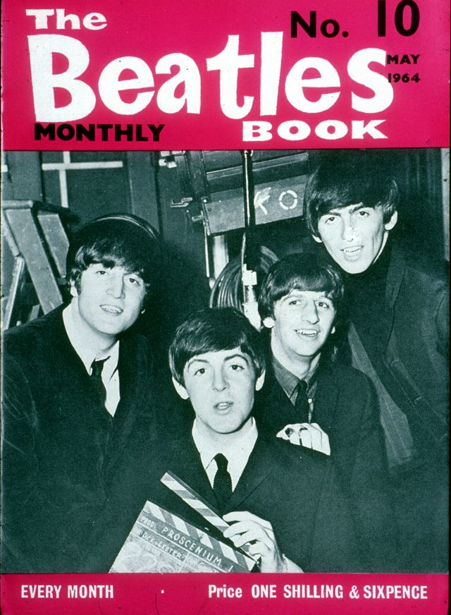 Couverture du numéro de mai 1964 de The Beatles Book