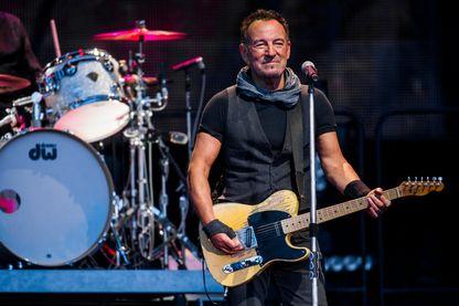 Bruce Springsteen et le E Street Band en concert au Circo Massimo le 16 juillet 2016 à Rome