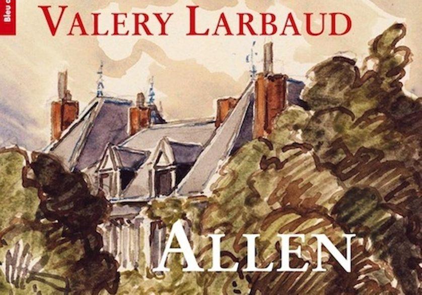 Allen, couverture du livre de Valery Larbaud