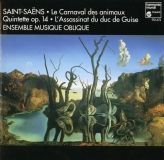 cd visuel L'assassinat du duc de Guise op 128 saint saens ensemble musique oblique