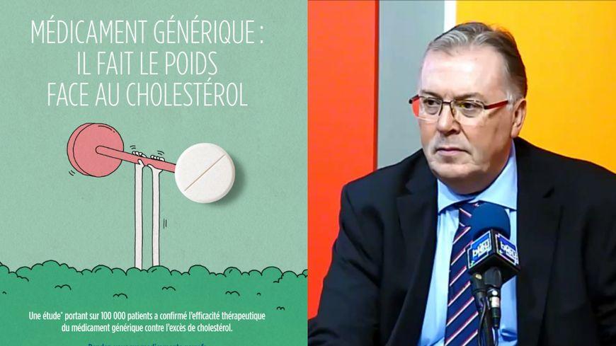 Patrick Rouyer, directeur de la CPAM de la Sarthe, qui relaie cette nouvelle campagne de promotion des médicaments génériques