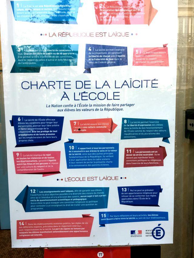 La Charte de la Laïcité à l'école