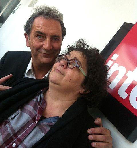François Morel et Juliette