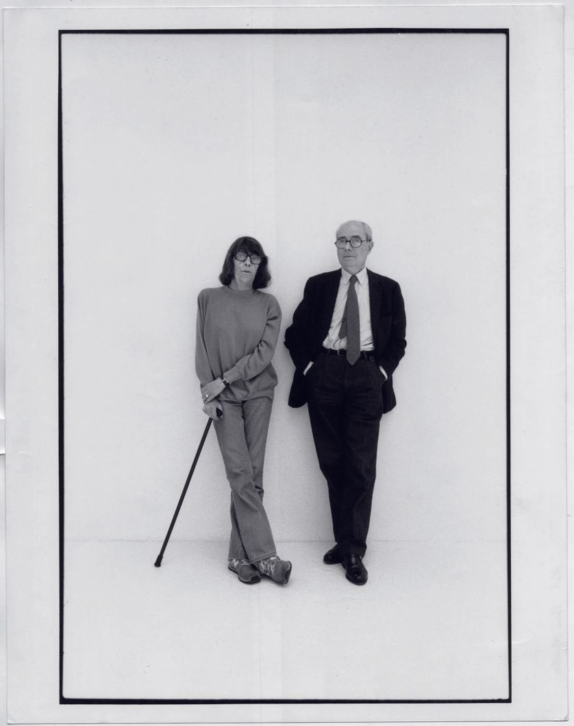 Jean Fournier et Joan Mitchell, 1989