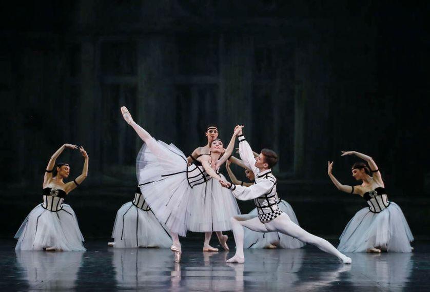 """"""" George Balanchine : hommage à Violette Verdy"""""""