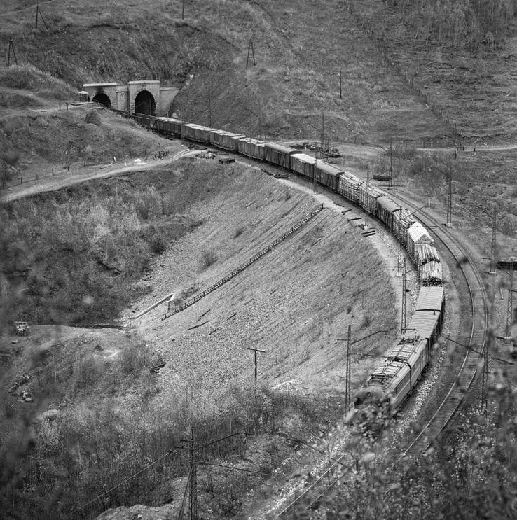 Le transsibérien en 1966
