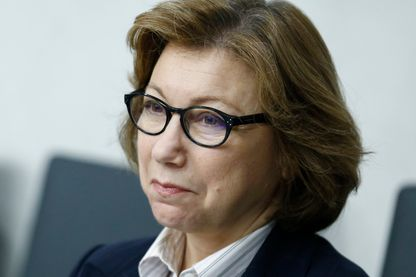 Bassma Kodmani, représentante de l'opposition syrienne et membre du Haut Comité des négociations (HCN).