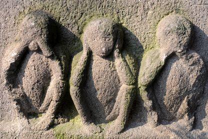 Les trois singes, symbole de la sagesse au Japon