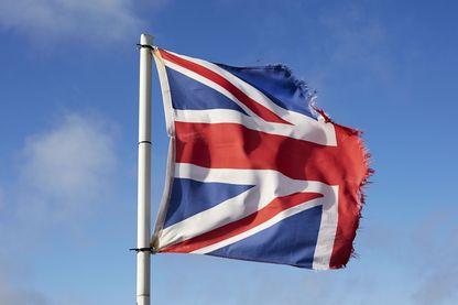 Drapeau Britannique déchiré, Nord du Devon