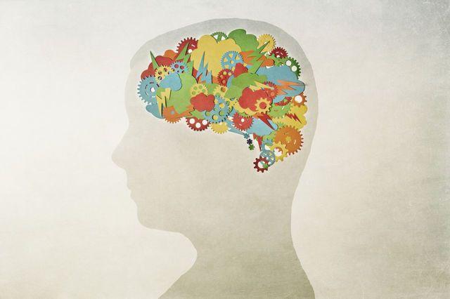Illustration d'un cerveau en pleine réflexion