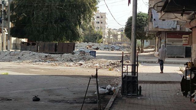 Alep est tiraillée entre les forces irakiennes à l'est et le gouvernement de Damas à l'ouest.