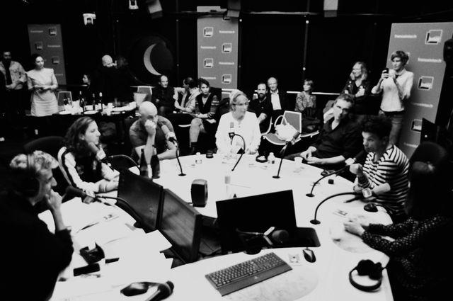 Didier Varrod, Cléa Vincent, Dominique A, Françoise Canetti, Alfred, Romain Humeau et Mesparrow