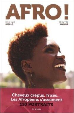 Couverture de Afro, Rokhaya Diallo (Les Arènes)