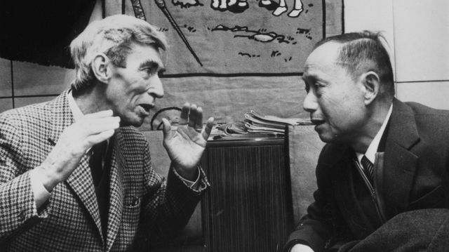 18 mars 1981, Hergé et Tchang se retrouvent