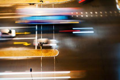 Traversée de voies automobiles