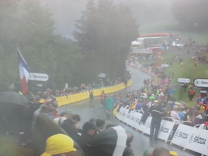En 2014, le Tour de France avait connu une arrivée dans le brouillard à la Planche des Belles Filles.