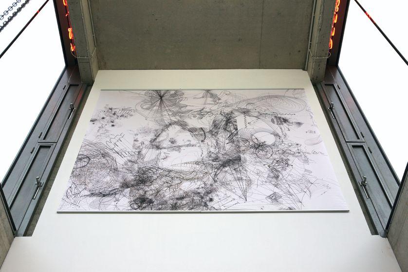 Atlas du temps présent de Claire Malrieux, exposé à La Terrasse, Nanterre (2016)