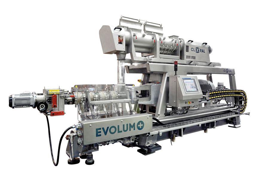 Le métier de Clextral : concevoir, produire et installer des machines à extruder, procédé par lequel une forme est donnée à une matière en la poussant dans une filière.